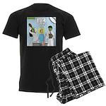 Zombie Doctor Men's Dark Pajamas