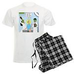 Zombie Doctor Men's Light Pajamas
