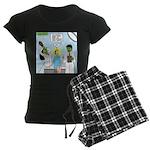 Zombie Doctor Women's Dark Pajamas