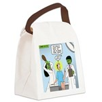 Zombie Doctor Canvas Lunch Bag