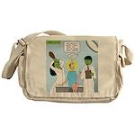 Zombie Doctor Messenger Bag