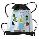 Zombie Doctor Drawstring Bag