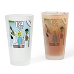 Zombie Doctor Drinking Glass