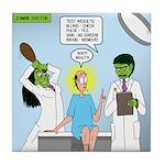 Zombie Doctor Tile Coaster