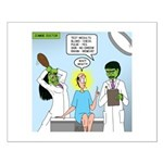 Zombie Doctor Small Poster