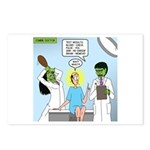Zombie Doctor Postcards (Package of 8)