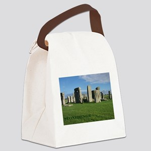 Stonehenge 2 Canvas Lunch Bag