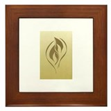 Twin flames Framed Tiles