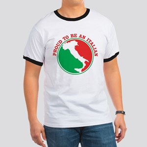 Proud to be an Italian! Ringer T