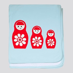 Riyah-Li Designs Nesting Doll Infant Blanket
