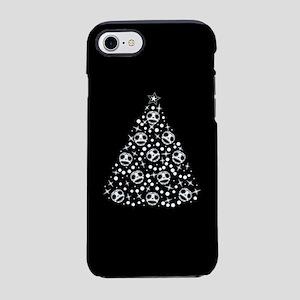 Cute Skull Christmas Tree iPhone 7 Tough Case