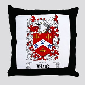 Bland Throw Pillow