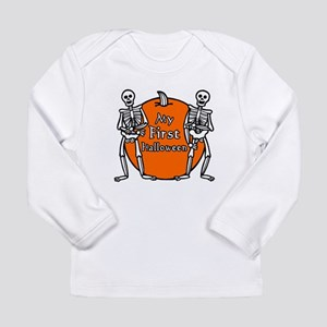 My First Halloween Long Sleeve Infant T-Shirt