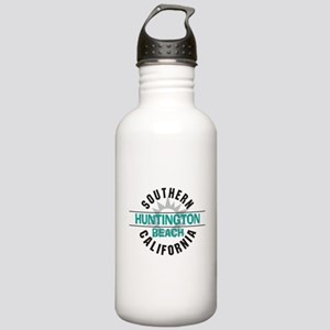 Huntington Beach California Stainless Water Bottle