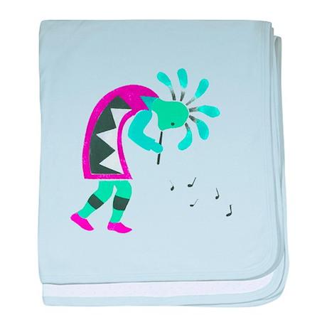 Kokopelli Infant Blanket