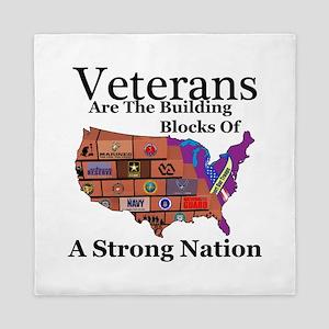 Building Block Nation Queen Duvet