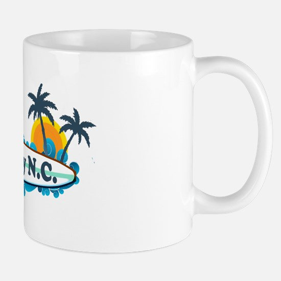 Surf City NC - Surf Design Mug