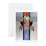 Skull Greeting Cards (10)