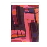 Square Animal Postcards (package Of 8)
