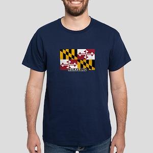 Montanan Flag Dark T-Shirt