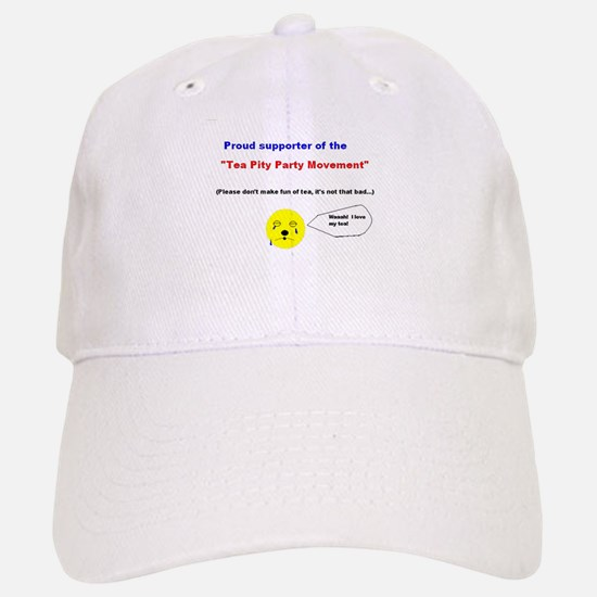 Tea Pity Party Baseball Baseball Cap