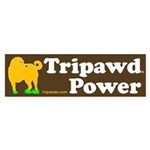 Tripawds Sticker (Bumper)