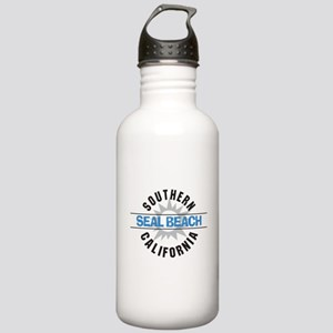 Seal Beach California Stainless Water Bottle 1.0L