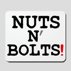 NUTS N BOLTS! Mousepad