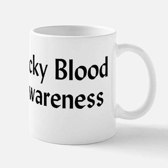 Sticky Blood Awareness Mug