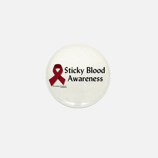 Sticky Blood Awareness Mini Button