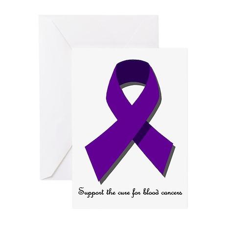 Leukemia & Lymphoma Greeting Cards (Pk of 10)