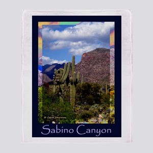 Sabino Canyon Throw Blanket