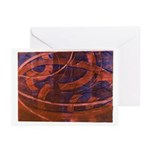 Curves Greeting Cards (10)