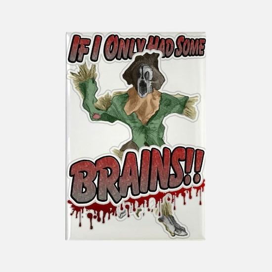 Brains! Rectangle Magnet