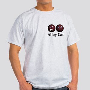 Alley Cat Logo 11 Light T-Shirt Design Front Pocke