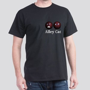 Alley Cat Logo 11 Dark T-Shirt Design Front Pocket