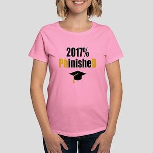 2017 PhD Women's Dark T-Shirt