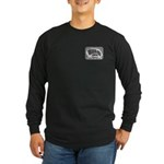 Men Dark Front Logo Back Ultra Long Sleeve T-Shirt