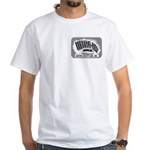 Men's White T-Shirt Utlra Logo Back