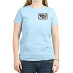 Women's Pastel T-Shirt Front Logo Back Ultra