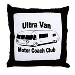 Throw Pillow With Ultra Image And Text