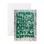 Runes 2 Greeting Cards (1)