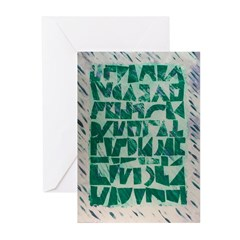 Runes 2 Greeting Cards (10)