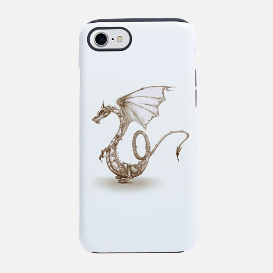 clockwork dragon_sepiaV3.jpg iPhone 7 Tough Case