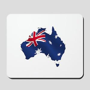Australian Map Mousepad