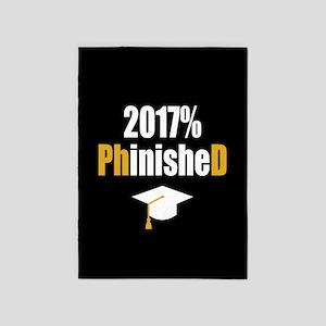 2017 PhD 5'x7'Area Rug