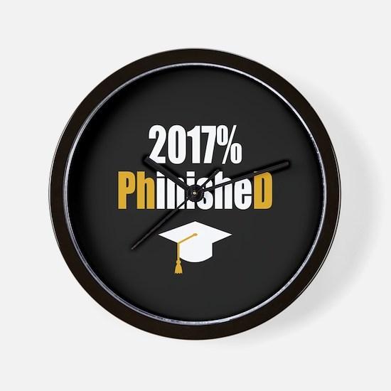 2017 PhD Wall Clock