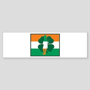 Irish Bagpipes Bumper Sticker