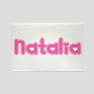 """Natalia"" Rectangle Magnet"