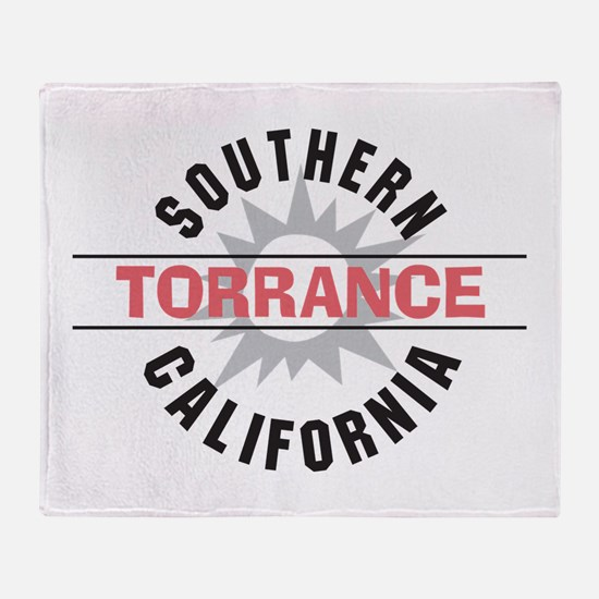 Torrance California Throw Blanket